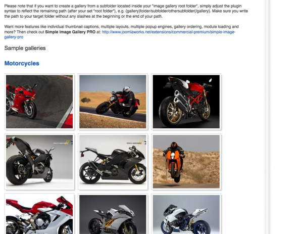 joomla相簿模組推薦