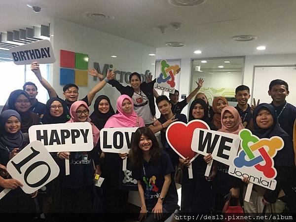 鼎益盛AJ2015Joomladay馬來西亞演講