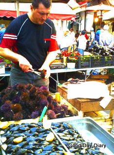 Catania魚市場