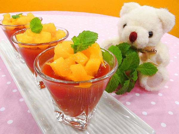 綜合鮮果凍
