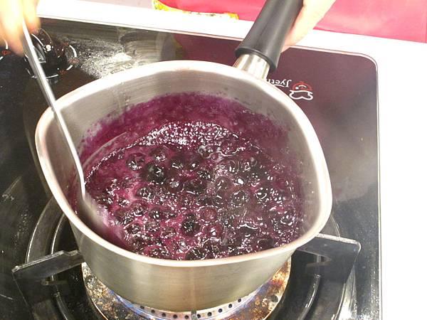 藍莓醬汁作法