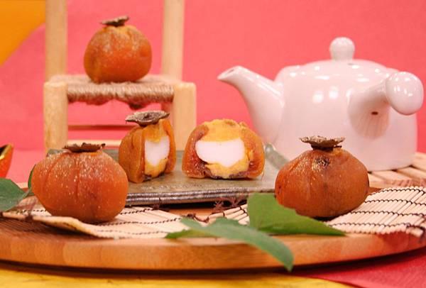 地瓜柿餅麻糬餅