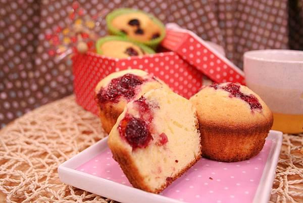 果香瑪芬杯子蛋糕