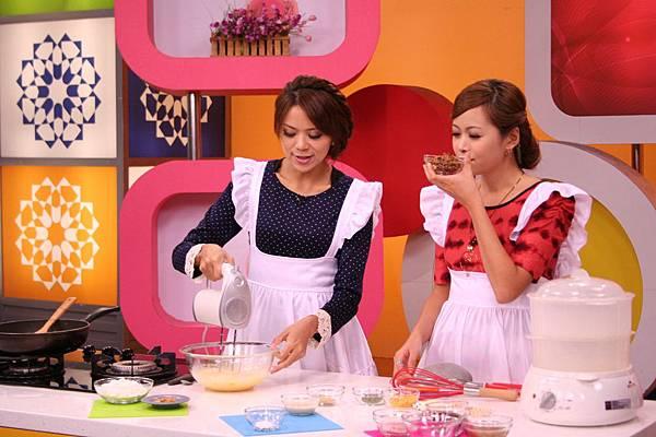 <鵝油芋香杯子鹹蛋糕 做法>