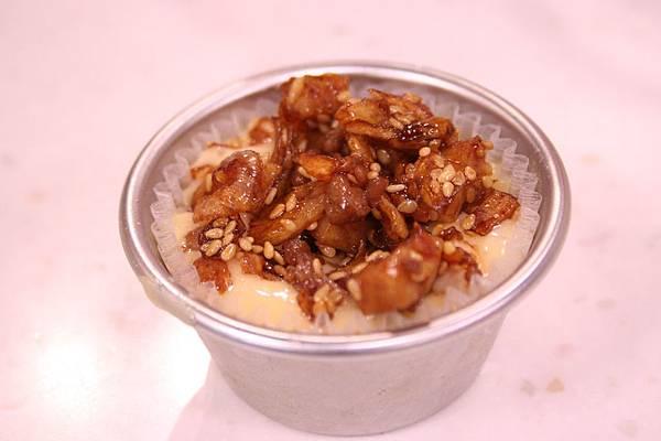鵝油芋香杯子鹹蛋糕 做法