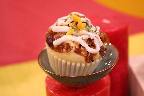 鵝油芋香鹹蛋糕