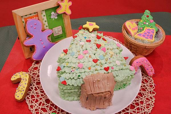聖誕樹蛋糕