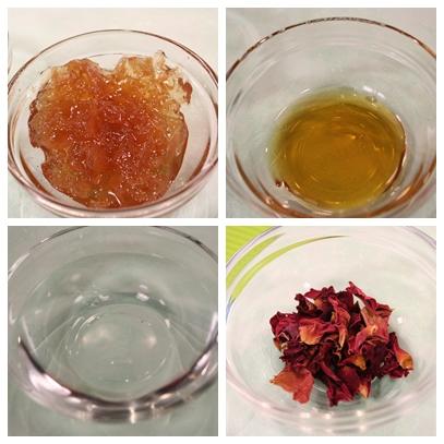 玫瑰芝麻湯圓 蜂蜜玫瑰湯材料