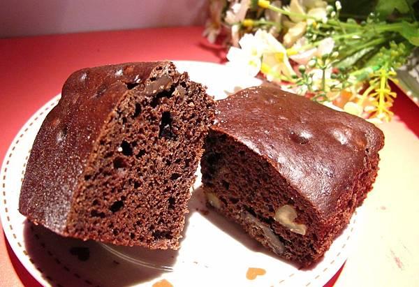核桃布朗尼米蛋糕