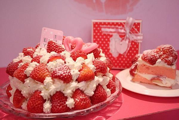 草莓花園蛋糕