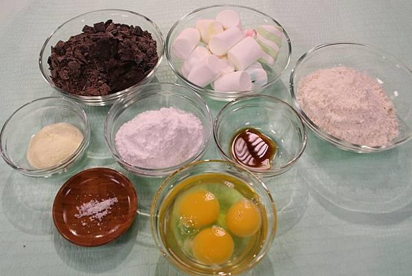巧克力派 材料