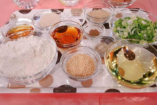 蔥油餅 材料