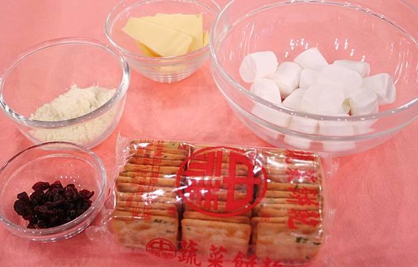 牛軋餅 材料