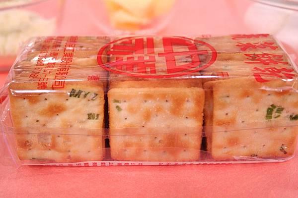 牛軋餅 材料:蘇打餅乾