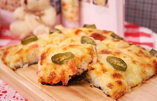 干貝壽司比薩