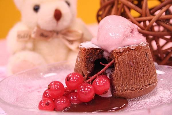 爆漿熔岩巧克力蛋糕