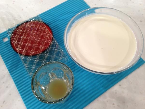 烏龍茶香奶酪佐芒果醬
