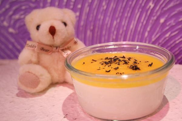 阿里山茶香奶酪佐芒果醬