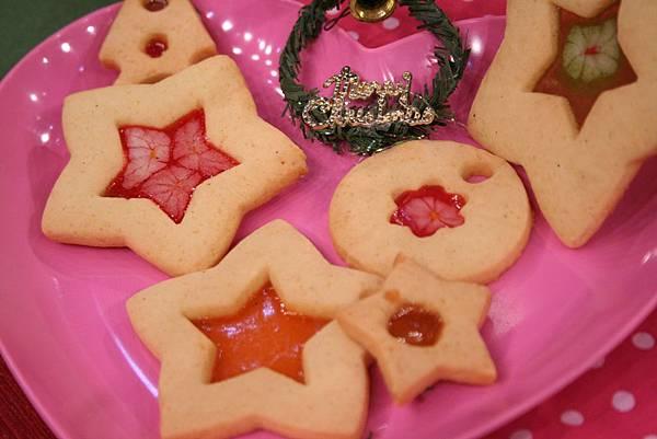 聖誕寶石餅乾