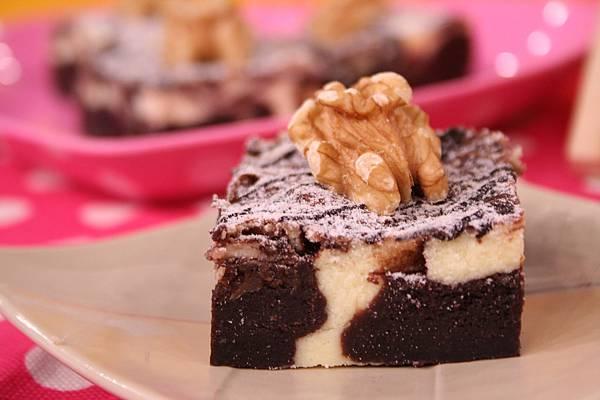 布朗尼乳酪蛋糕