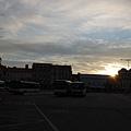 早上七點搭車前往CK小鎮
