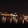 查理大橋上看夜景