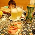 檸檬啤酒!