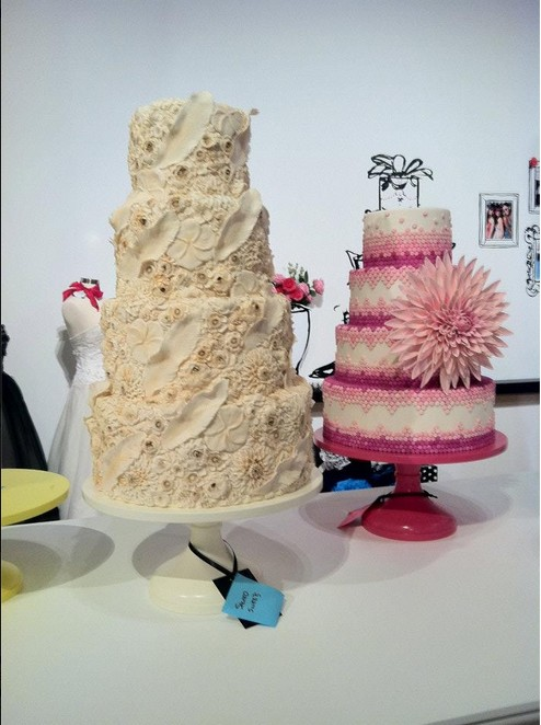 婚禮蛋糕(花2)