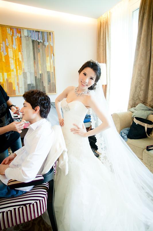 法國巴黎婚禮-Pronovias頂級婚紗(1)