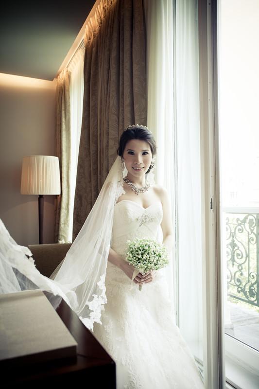 法國巴黎婚禮-Pronovias頂級婚紗(5)