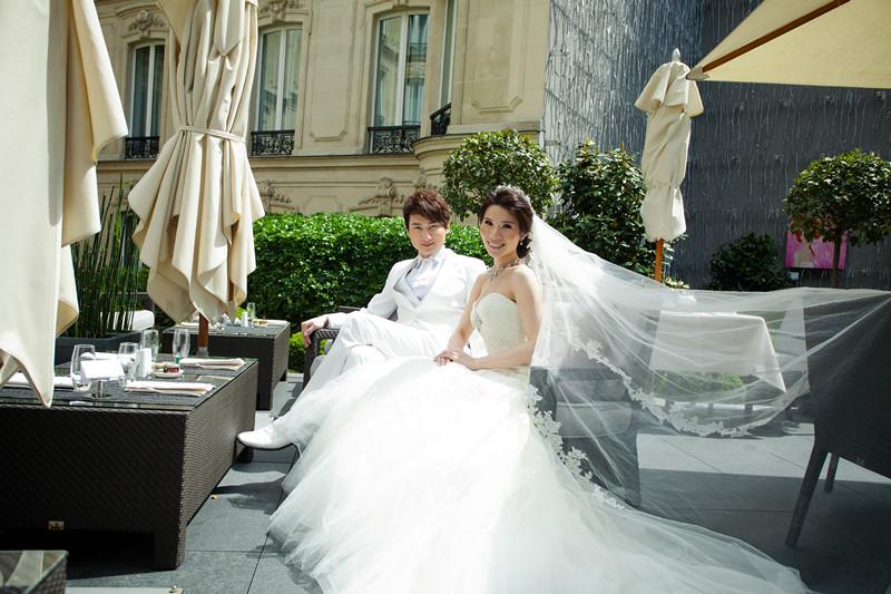 法國巴黎婚禮-Pronovias頂級婚紗(8)