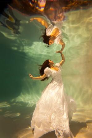 台中婚紗-水中婚紗