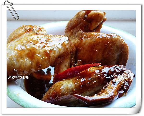 蜜汁雞翅-上菜