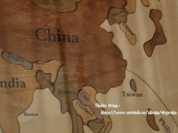 世界地圖-有Taiwan