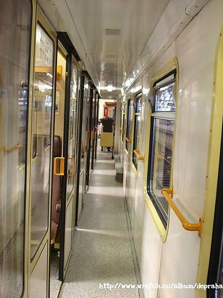火車車廂內