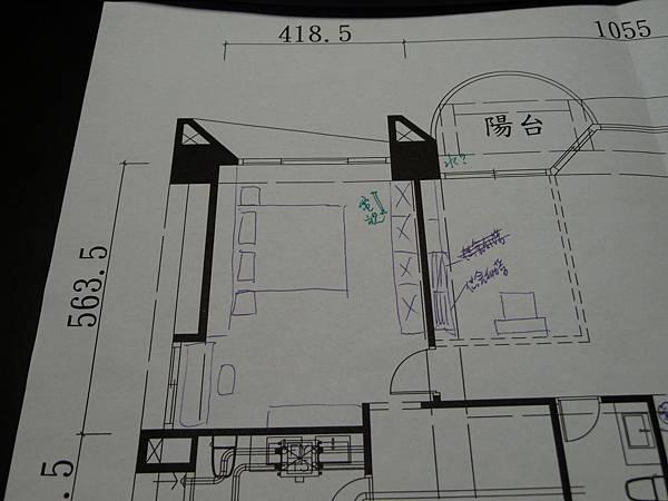 2.主臥室電視可否用懸空的?