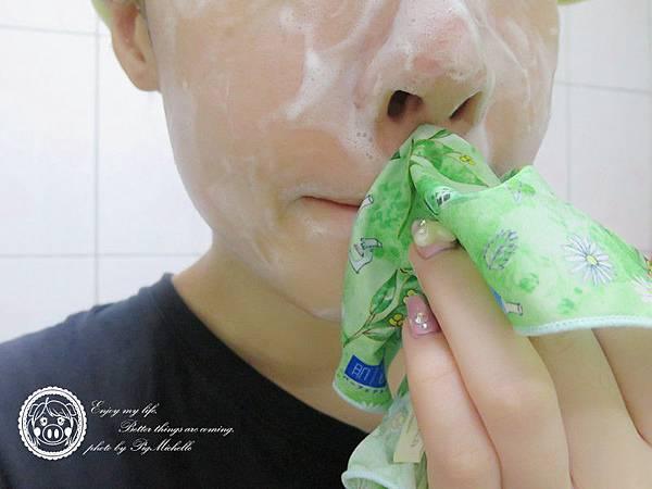 日本Pikka Pikka X 肌研聯名款洗顏巾 + 肌研極潤健康深層清潔調理洗面乳 038_副本