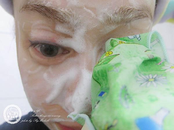 日本Pikka Pikka X 肌研聯名款洗顏巾 + 肌研極潤健康深層清潔調理洗面乳 033_副本