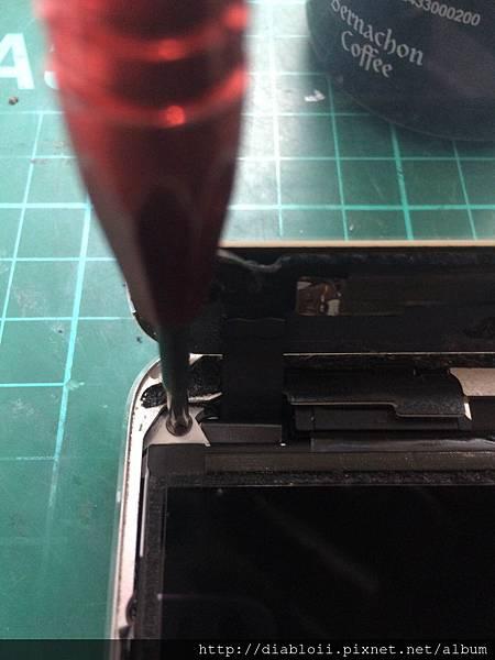 I Pad mini2 液晶顯示異常