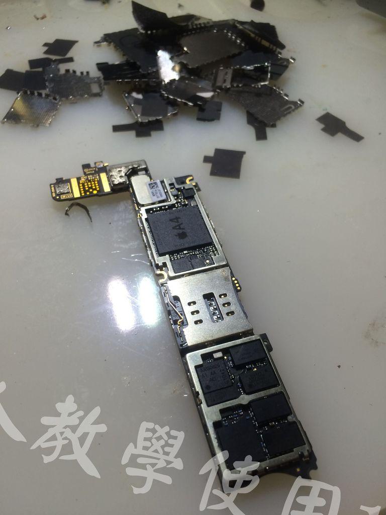 I Phone 4 不開機短路