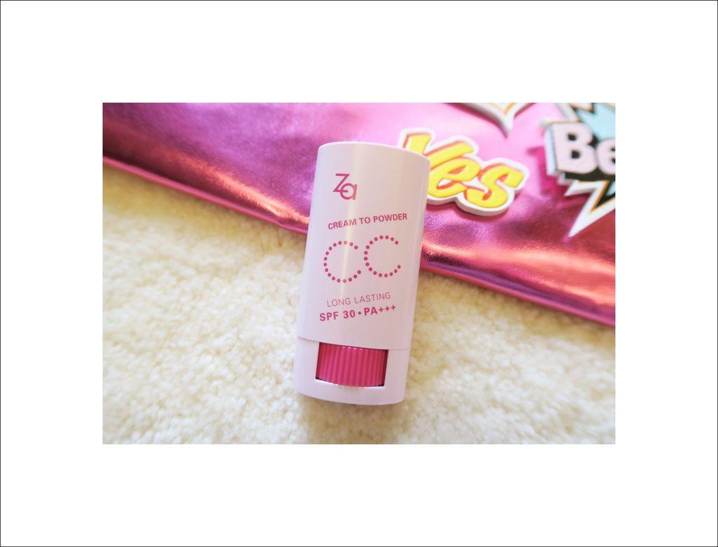 【彩妝】實在很方便的ZA美膚模式CC棒 新品分享+第一印象