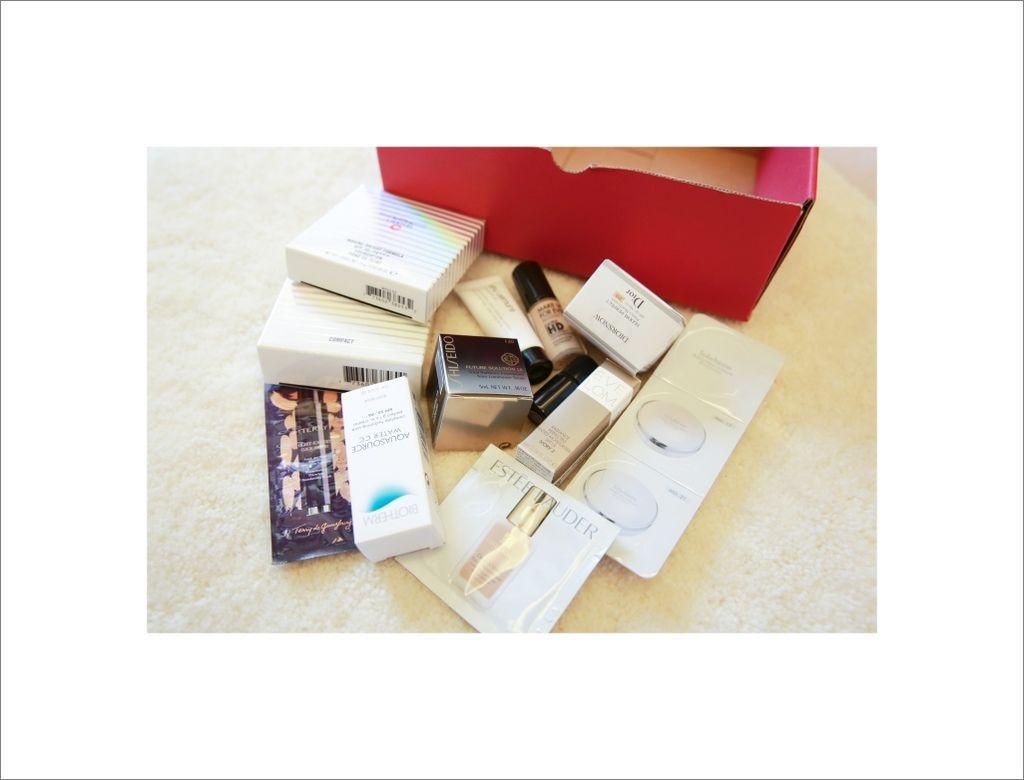 【美妝】我發誓這是目前為止最有誠意的體驗盒|ELLE底妝體驗盒
