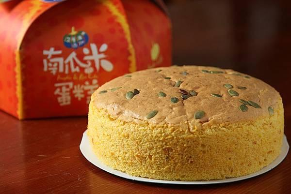 南瓜米蛋糕