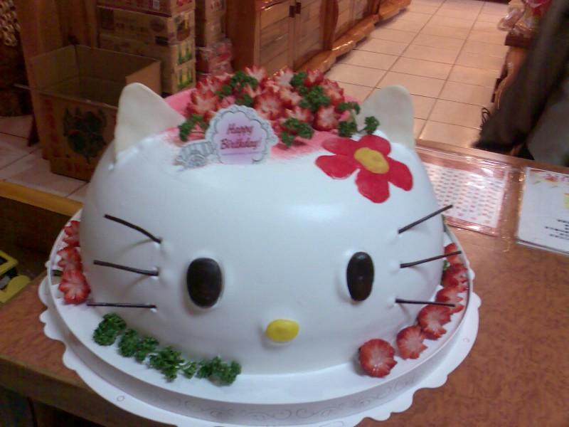 KITTY造形蛋糕
