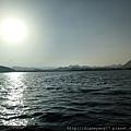 夕陽西下之前的皮丘拉湖,湖光瀲灩,美不勝收。