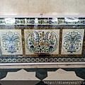 烏岱普爾城市宮殿裏的精彩建築細節~大理石鑲崁工藝,是印度古老建築裏外常見的一項裝飾工法。