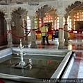 Part of Badi Mahal in City Palace, Udaipur. 此處又稱為「花園宮殿」,中央四方型的是一個小游泳池。