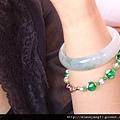 那串綠色的琉璃珠是最能代表威尼斯傳統工藝的藝品之一。.JPG