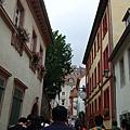 早晨海德堡靜謐古樸的街道~~.JPG