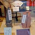 KUNOYA櫥窗裡的風呂敷展示。.JPG